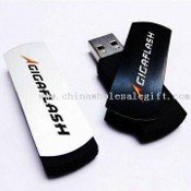 Stylish swivel pen drives Gigaflash Aluminum Swivel Flash Drive with Hand Strip images