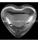 Crystal Heart Shape Paperweight images