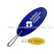 Floating stress reliever key chain images
