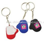 Mini boxing glove stress reliever key chain images