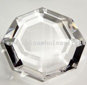 Optically Perfect Octagon Paperweight images