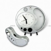 AM/FM Clock Radio with Torch Light and Message Reminder Function images