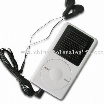 Solar Radio with Low Power Consumption, Suitable for Electronic or Promotion Gifts