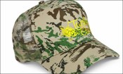 Mesh Back Camouflage Cap - Heat Transfer images