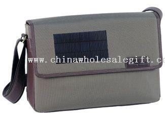 solar charging backpack
