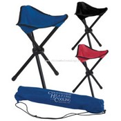 Folding Tripod Stool with Carrying Bag images