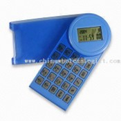 Multifunction Calculator, LCD Calendar with 8 Digits Calculator images