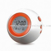 Multifunction Calendar with Temperature Meter and LCD Clock images