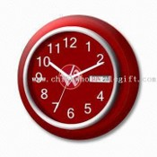 Promotional Wall Clock with Calendar, Made of Plastic images