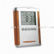 Thermo World Timer Thermo World Timer with Alarm Clock and Date/Time Display images