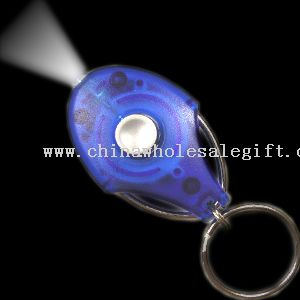 LED Keychain with lithium batteries