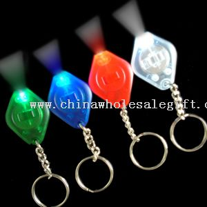 Lithium Battery Operated LED Keytag