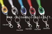 Led Round Keychain With Lithium Battery images