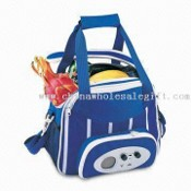 Travel Cooler Bag with Built-in AM/FM Radio images