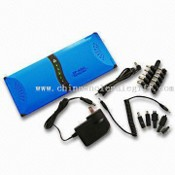 Solar Laptop Power Charger with 4,000mAh Capacity and 3.6W Battery Power images