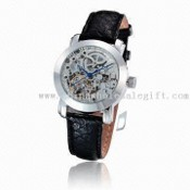 Tourbillon Mechanical Watch with Automatic Movement and Stainless Steel Case images