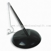 Ball Pen with Metal Stand and Chain images