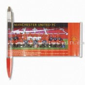 Plastic Banner Pen with Metal Parts images