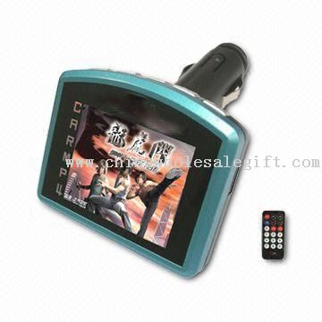 1.8-inch Car MP3 Player with 12 to 24V Power Supply