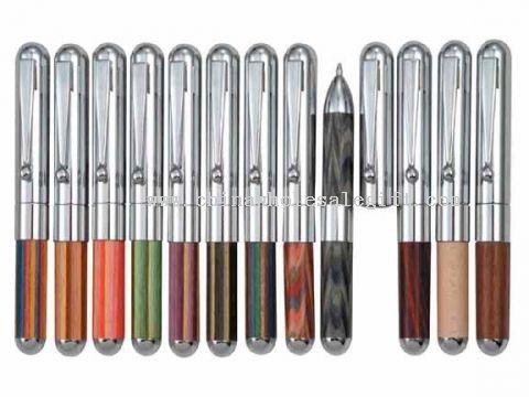 Mini + fat shape wooden pen