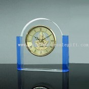 Crystal Clock, Made of Clear and Blue Crystal images