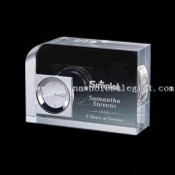 Crystal Clock Award Crystal Clock Award in Different Sizes images