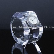 Crystal Clock in Ring Shape images