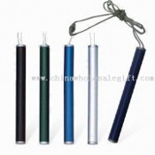 Mini Pen with Metal Barrel and Wire Lanyard images
