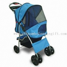 Pet Stroller Series, with Swivel Front Wheels images