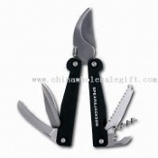 Promotional Stainless Steel Multifunctional Knife/Tool Set with Logo Space images