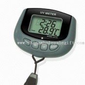 UV Meter with Timer and Calendar images