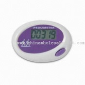 Mini Promotional Digital Single Function LCD Pedometer with Calorie Counter images
