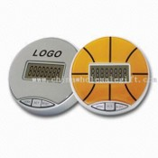 Promotional Digital Single Function LCD Pedometer with Calorie Counter and Logo Space images