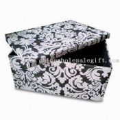 Paper Woven Storage with Fashion Design printing images