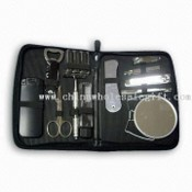 Toiletry Travel Kit, Include 1pc Can Opener and 1pc Dust Cleaner images
