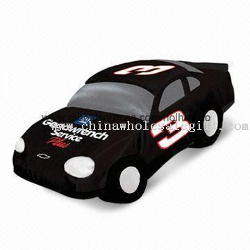 Black Plush Racing Car for Promotion Gift from Car Selling Company