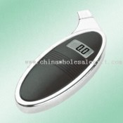 Oval Digital Tire Gauge with Large LCD Screen and High Precision Sensor images