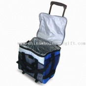 35L Cooler Bag with Trolley, Made of ABS and PP Materials images