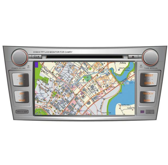 8Car DVD w/bluetooth, GPS built-in, IPOD, 3 D menu(TOYOTA CAMRY)