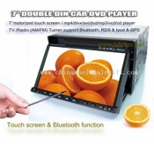 7 Two-Din car DVD with Blutooth+RDS+IPOD+GPS+(TMC optional) images