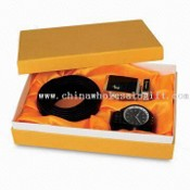 Gift Set, Includes Belt, Buckle and One Quartz Watch, Suitable for Men images