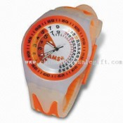 Waterproof Promotional Alloy Mens Watch with Large Logo Space, Ideal for Promotional Purposes images