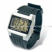 Waterproof Promotional LCD Mens Watch images