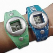 Waterproof Promotional Mens LCD Watch images