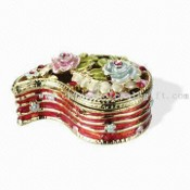 OEM Ready Jewelry/Trinket Box, Made of Pewter Alloy images