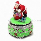 Santa Claus Musical Carousels with Musical Components images
