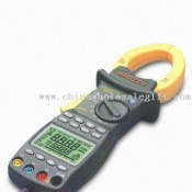Multifunction Three Phase Power Clamp Meter with LCD Panel images