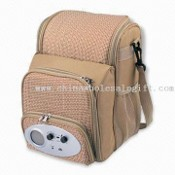 Radio Sling Picnic with Wide Open Insulated Food Compartment images