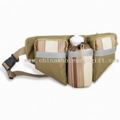 Waist Bag with Reflected Strip in Front images
