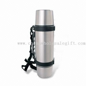 Travel Vacuum Kettle/Water Bottle with 500mL Capacity and Stopper